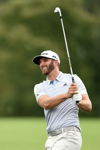 Dustin Johnson. BMW Championship at Crooked Stick Golf Club on September 9, 2016 in Carmel, Indiana.