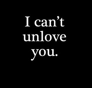 I can't I love you, but I wish I could.. because your Love was a lie.. Love doesn't abandoned and go love someone else ..