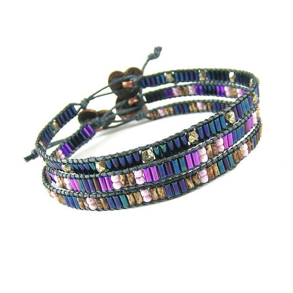 Hey, I found this really awesome Etsy listing at https://www.etsy.com/listing/529555349/seed-bead-bracelet-boho-bracelet-dainty