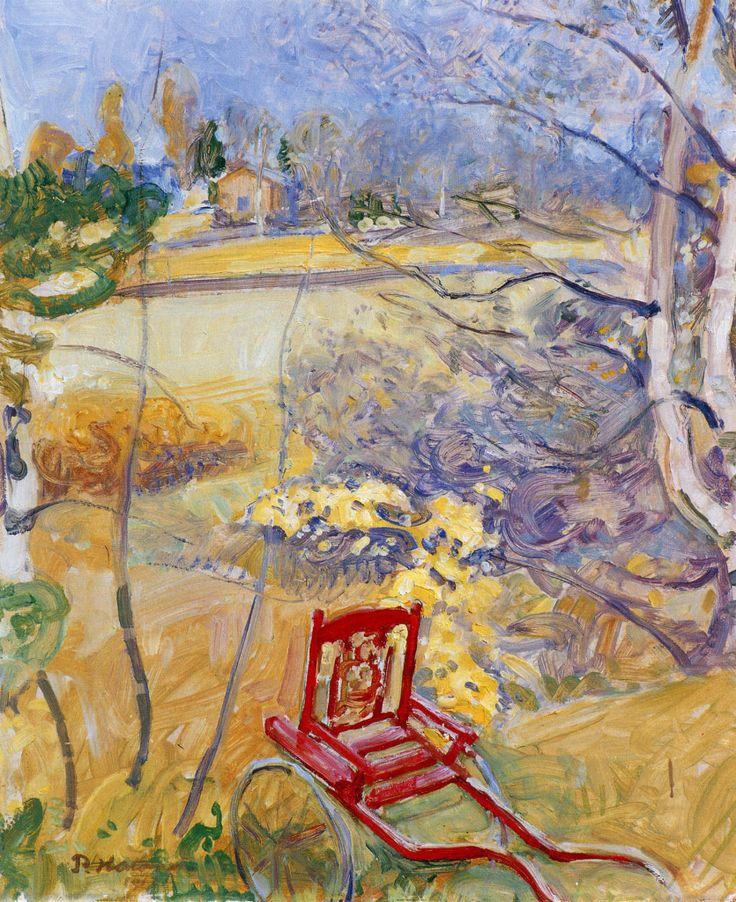 Pekka Halonen, Lastenrattaat Puutarhassa, 1913, The Life and Art of Pekka Halonen - http://www.alternativefinland.com/art-pekka-halonen/
