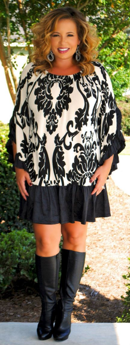 Perfectly Priscilla Boutique - Criss Cross Apple Sauce Dress / Tunic, $45.00 (http://www.perfectlypriscilla.com/criss-cross-apple-sauce-dress-tunic/)