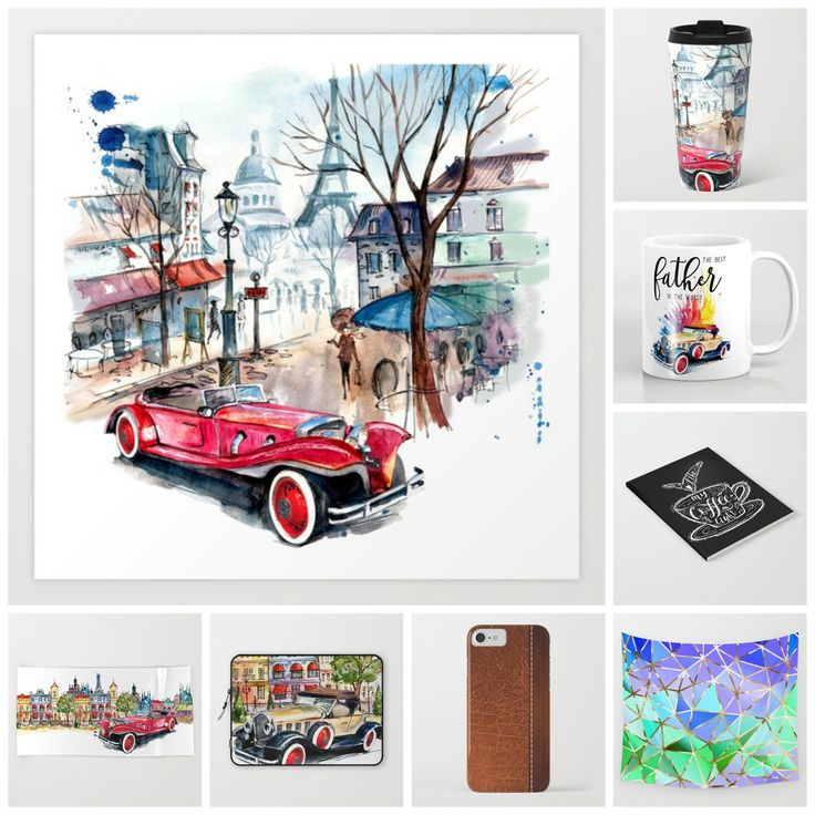 TODAY only (6/7) Still looking for #fathersdaygifts ? Feel free to check this #sale #deal Up to 40% off + #freeshipping on these products #artprint #metaltravelmug #mug #notebook #beachtowel #laptopsleeve #phonecase #walltapestry - Check more designs at society6.com/julianarw