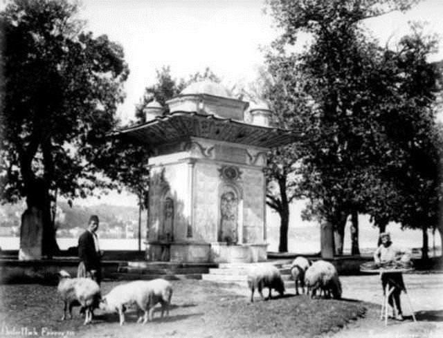 Küçüksu Çeşmesi, 1880