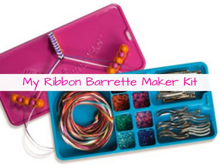 Christmas Gift Ideas For Creative Tweens Ribbon BarrettesTween GirlsCraft
