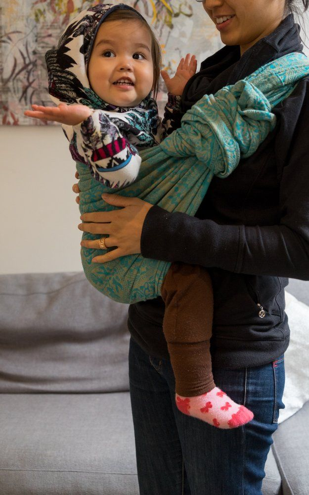 Winter Babywearing Tips
