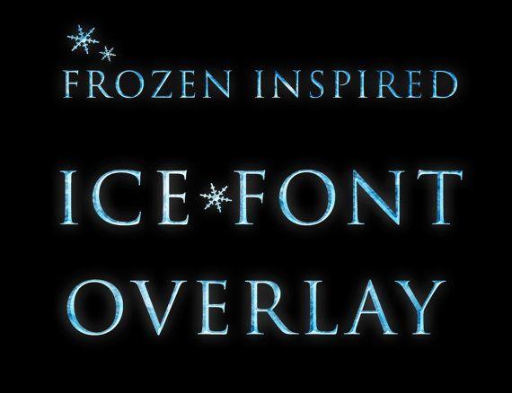 Frozen Font Overlay