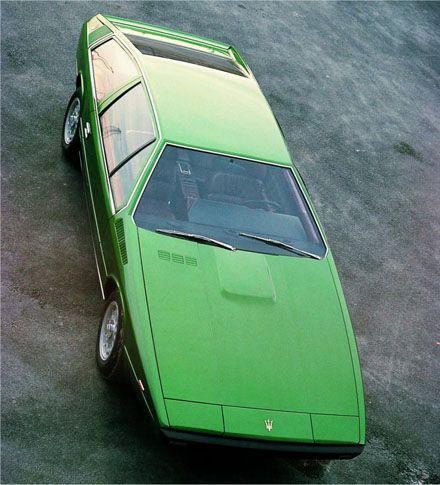 Maserati 124 Coupe - designed by Giorgetto Giugiaro of Ital design. He designed the Lotus Esprit also…..