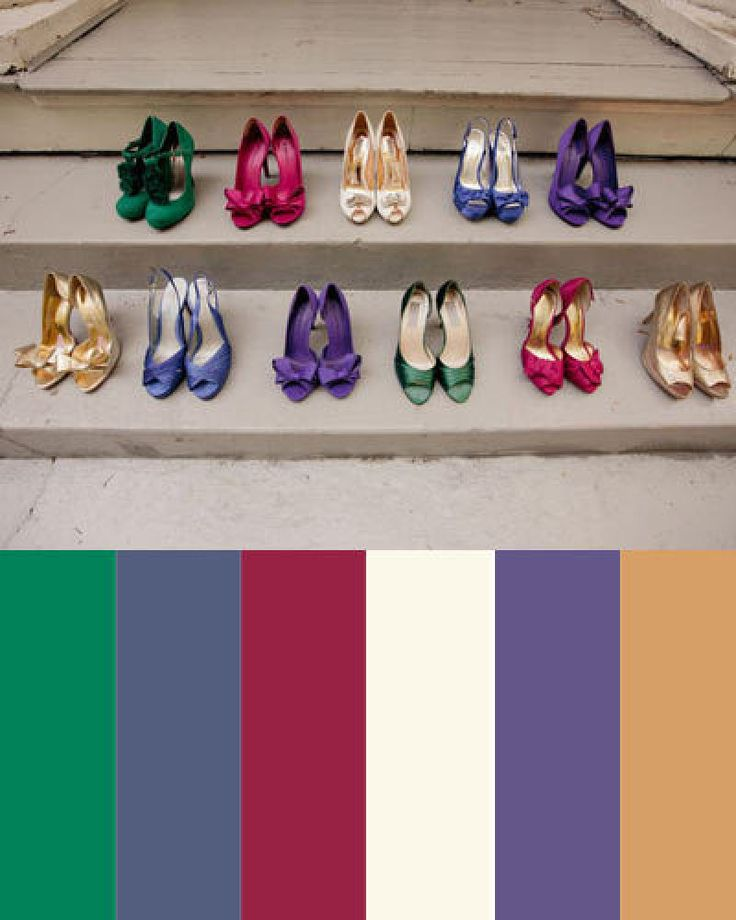 38 best images about painted walls ideas on pinterest - Jewel tones color palette ...