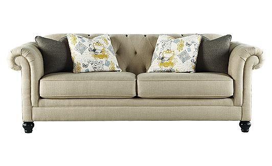 Hindell Park - Putty Sofa