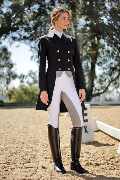 this is why I want to learn how Show jump! I love the atire!   One problem.  This is a dressage outfit.  So for all the money you will be spending, do some research.