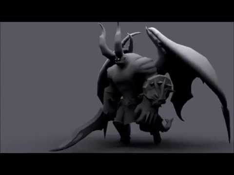 2014 game animation show reel - YouTube