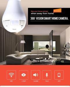 Fisheye Lens 360°Wireless Camera
