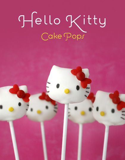 Maries Manor Hello Kitty: Pin By Jim Anne Marie Hill On Cake Pops