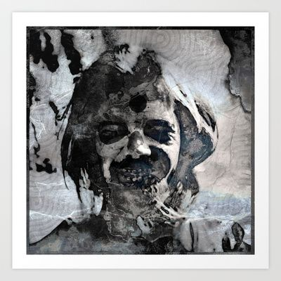 Angel of Death Art Print by Johannes Kamikaze - $18.00