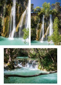 La cascade de Sillans.