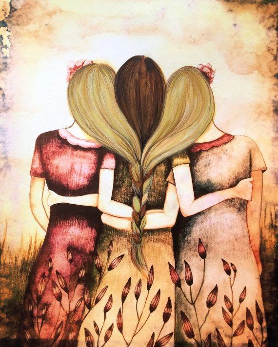 Drei Schwestern Jahrgang 2 Blondinen und ein von claudiatremblay