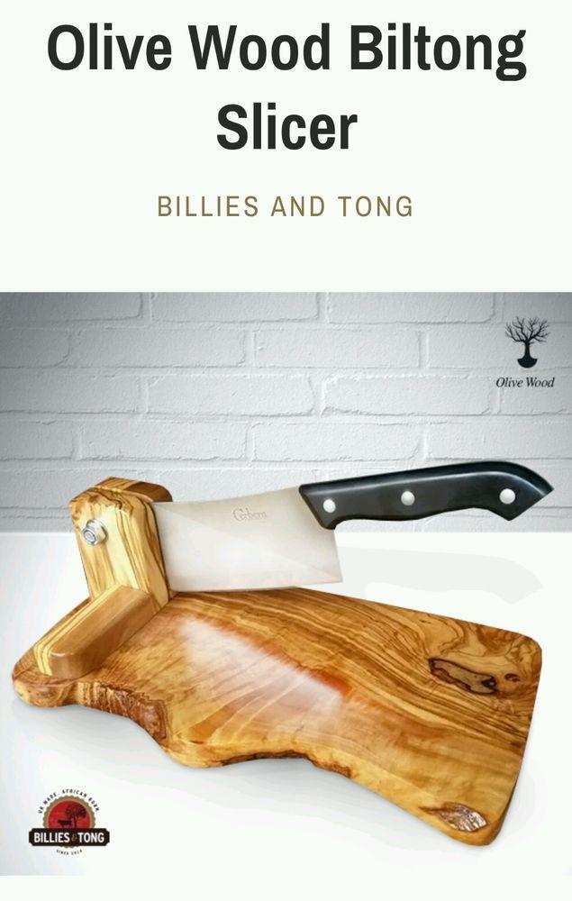 Good concept for biltong slicer