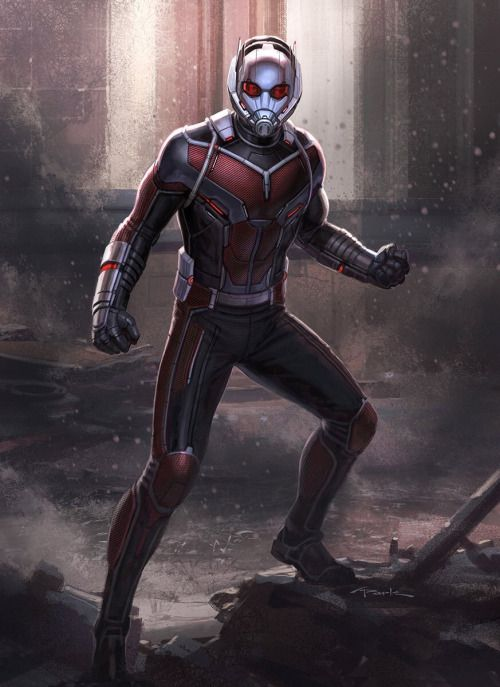 Captain America: Civil War Character Concept Art: Ant-Man - Andy Park