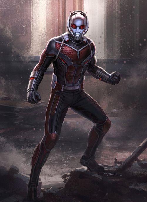Captain America: Civil War Character Concept Art: Ant-Man - Andy Park