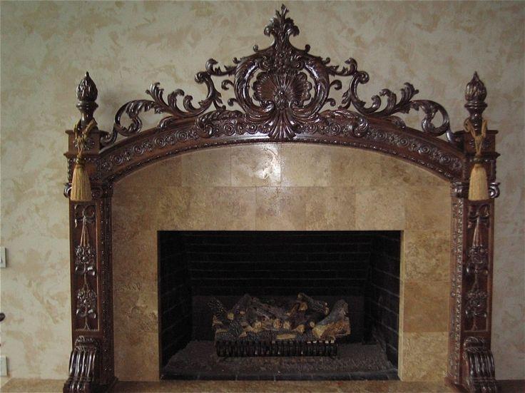 Fireplace Mantel Kits Decoration Ideas For Beautiful Interior: Gorgeous  Handmade Fireplace Mantel Kits ~ Anahitafurniture