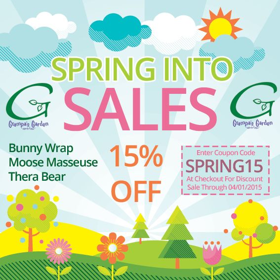 218 best sales promotions images on pinterest beauty products spring into sales starting with 15 off bunny wraps moose masseuse thera moosecoupon codesfor fandeluxe Choice Image