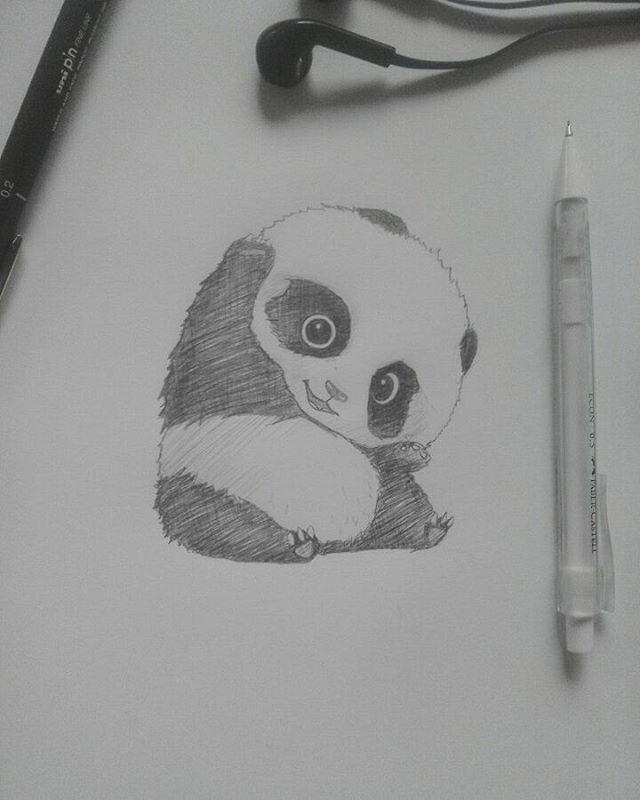 "10 Likes, 1 Comments - Alexsander Mayor (@lxsndrart) on Instagram: ""Panda 🐼"""