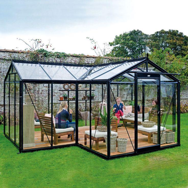 Orangeri Babette, ett växthus för odling och avkoppling #Växthus #Orangeri #Uterum #Babette