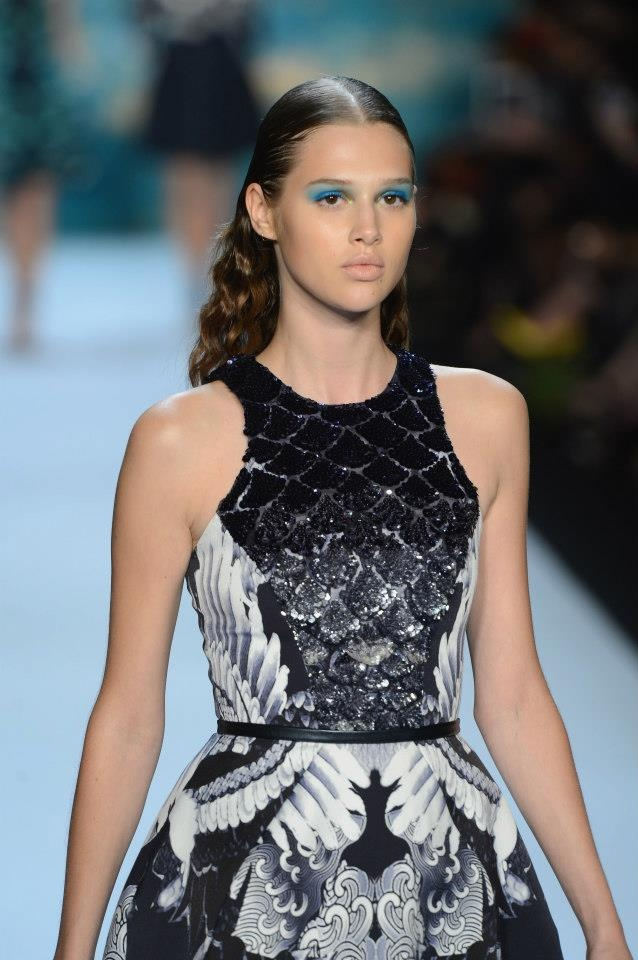 Monique Lhuillier SS2013 #NYFW