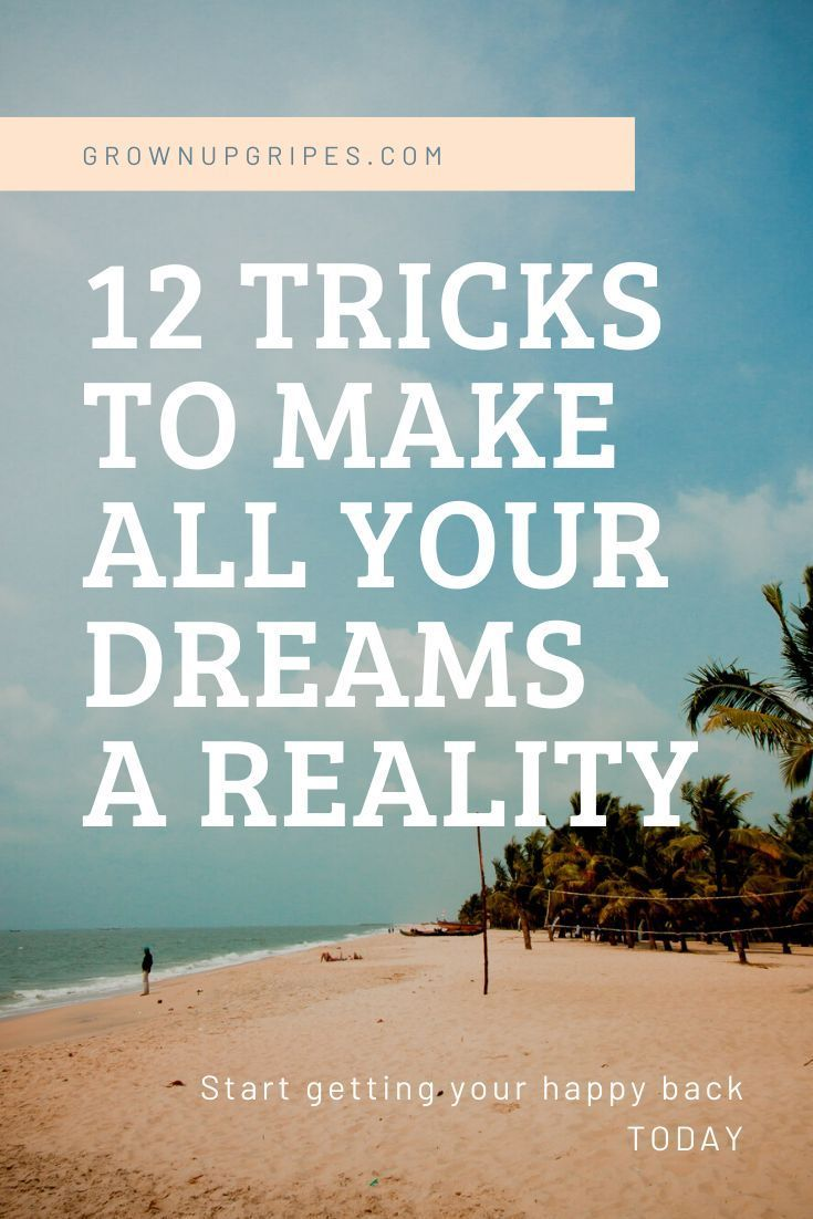 Just Do It 12 Ways To Make All Your Dreams Come True In 2020