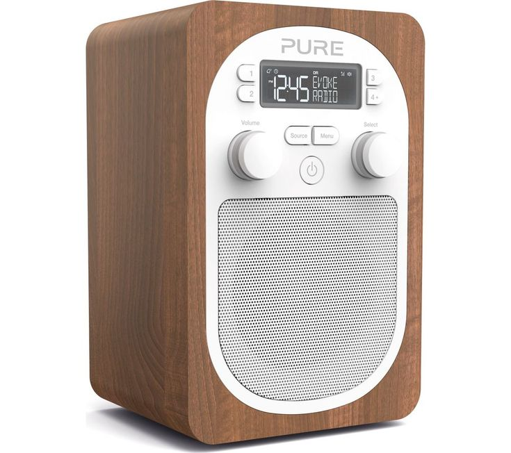 #homeappliances PURE Evoke H2 Portable DAB/FM Clock Radio - Walnut: Top features:- Enjoy DAB and FM radio, storing up to 20… #electronics