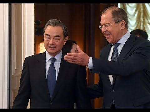 Lavrov Welcomes Chinese Colleague In Moscow