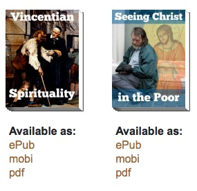 Did you know that Famvin offers eBooks, downloadable to your mobile phone?