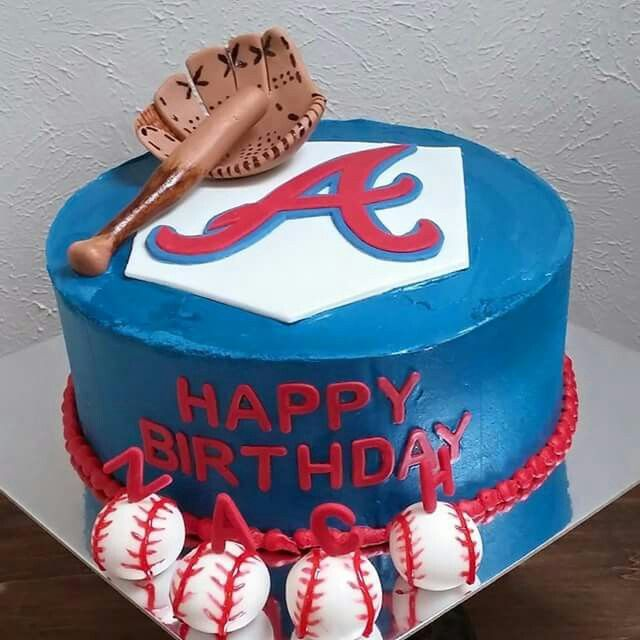 13 Best ATLANTA BRAVES BIRTHDAY INVITATIONS AND PARTY FAVORS Images On Pinterest