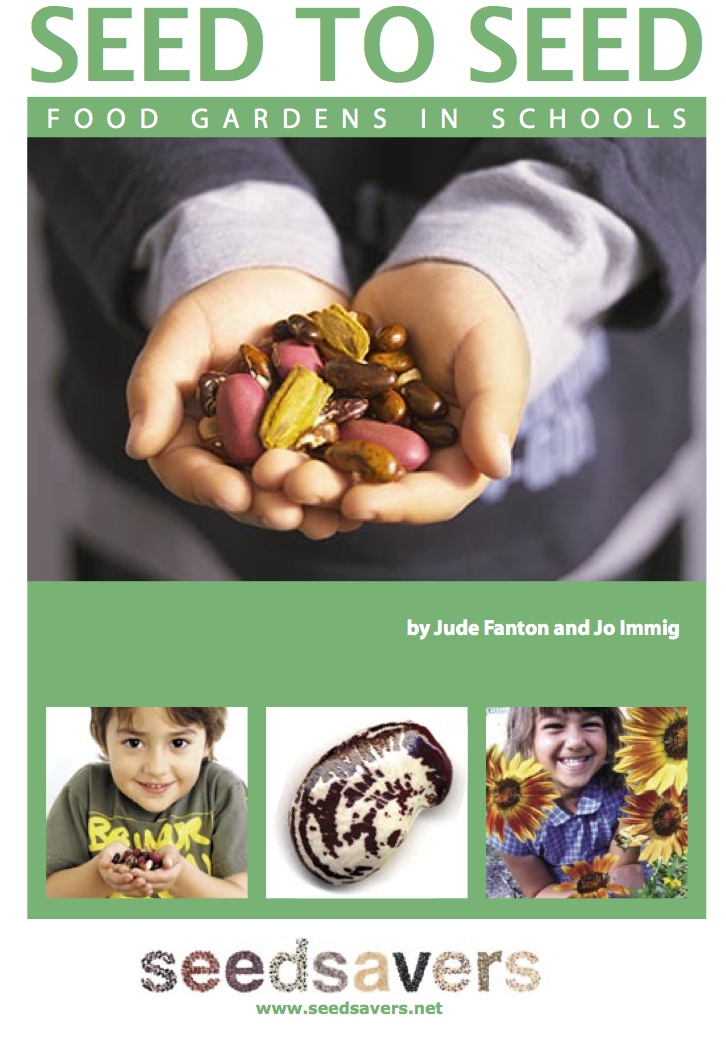 Seed To Seed- Food Gardens In Schools from Seed Savers. An 80 page PDF. Figured if they can teach kids then maybe this primer can teach me too.: School Garden Club, Garden Club Projects, Gardening Project, Food Gardens, Kids Garden, School Gardening Club, Do Gardens