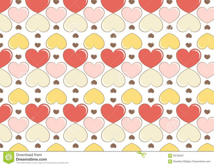 seamless heart background pattern. suitable for textile pattern, bags, wrapping paper, cards