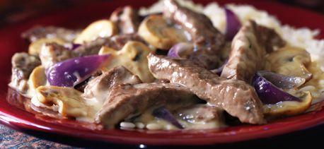 Beef & Mushroom Skillet