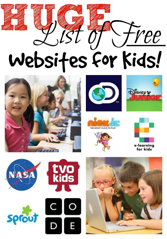 Discover the best educational websites for kids. Let your children learn about everything from anatomy to phonics with these free and fun websites