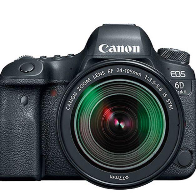 Canon Eos 6d Mark Ii Ef With 24 105mm F 3 5 5 6is Stm Lens Qvc Com Digital Slr Camera Canon Eos Digital Slr