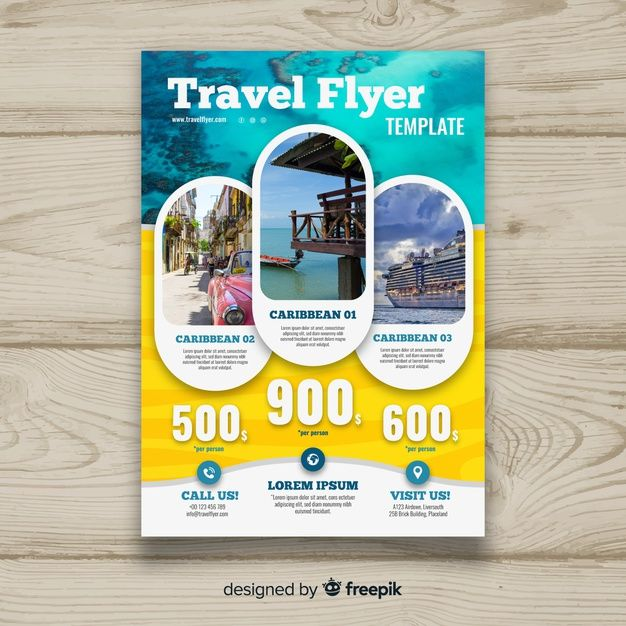 Travel Flyer Psd Free Download