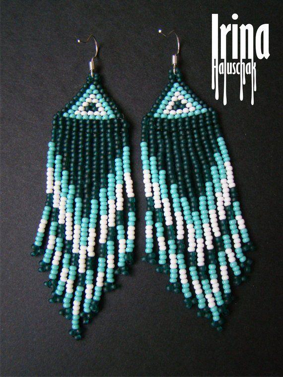 Holographic Turquoise teardrop earrings