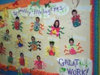 Spring Bug Elementary Bulletin Board Idea
