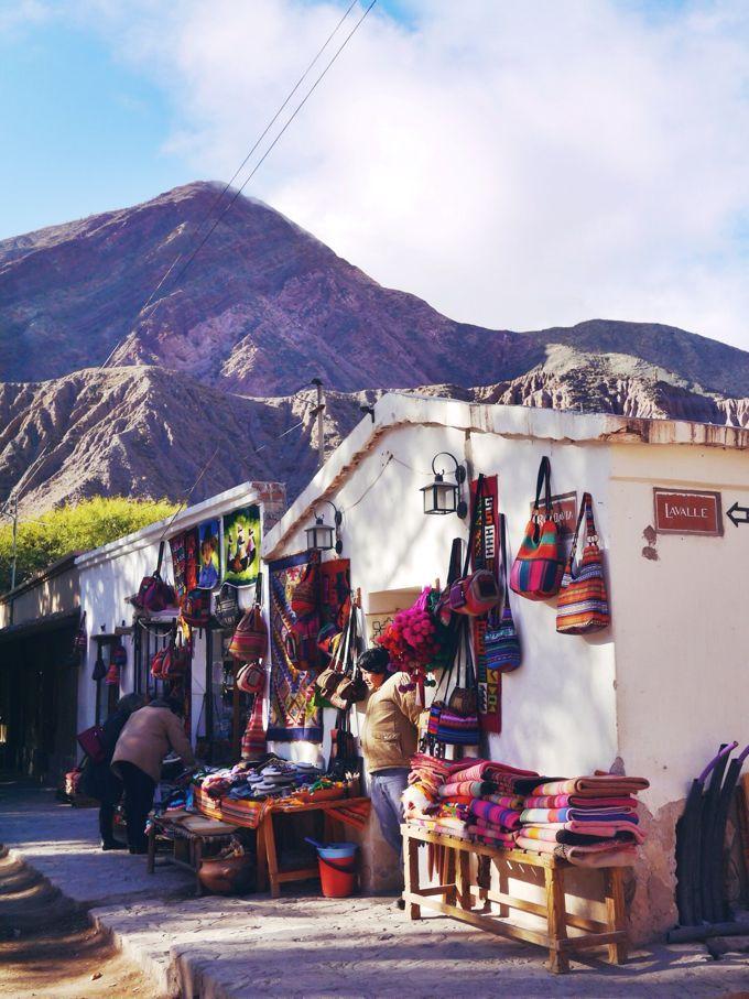 purmamarca, quebrada de humahuaca, jujuy, argentina