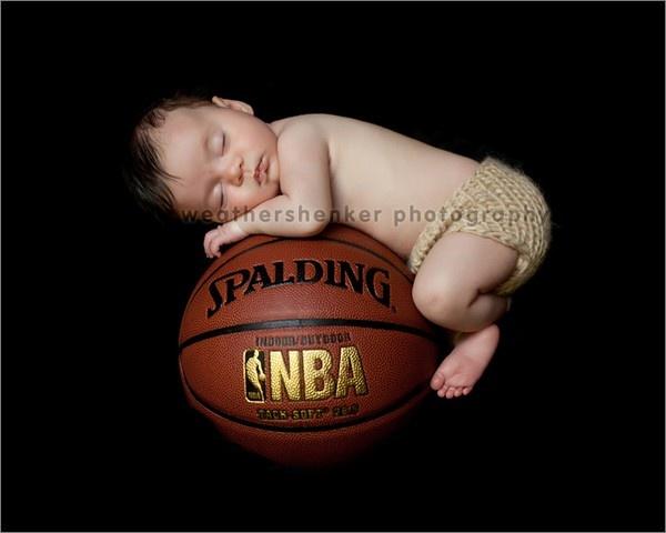 basketball baby kathblogger