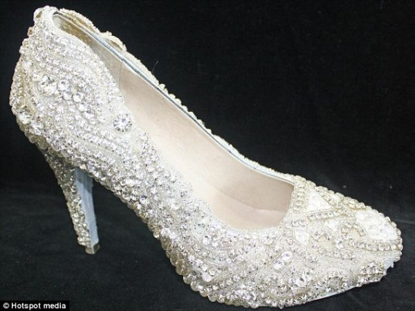 The prize for the most expensive shoe in the world goes to New Zealand designer, Kathryn Wilson's 'the Diamond shoe'. Embellished with almost 21.18 carats of diamonds, this shoe is priced at a staggering £276,237!