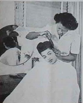 Rose Morgan, owner of the largest and most visible African-American beauty salons during the age of segregation