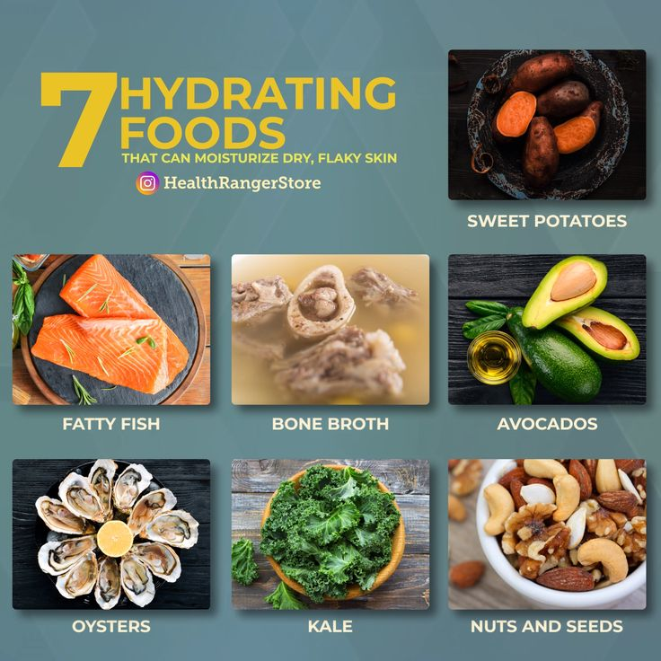7 hydrating foods that can moisturize dry flaky skin
