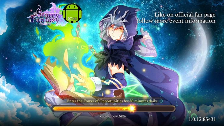 Starry Fantasy Online MMORPG HD gameplay