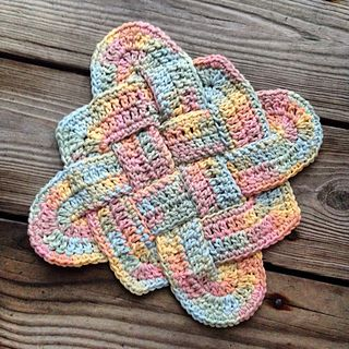 Sailor's Knot Dishcloth... Free pattern!!