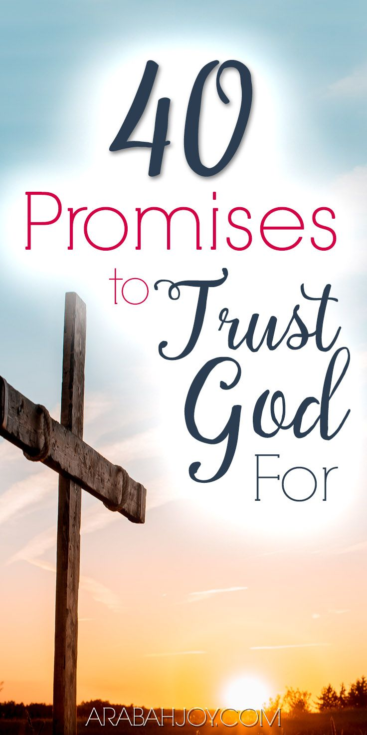 40 Days of Praying the Promises of God {The Trust Without Borders