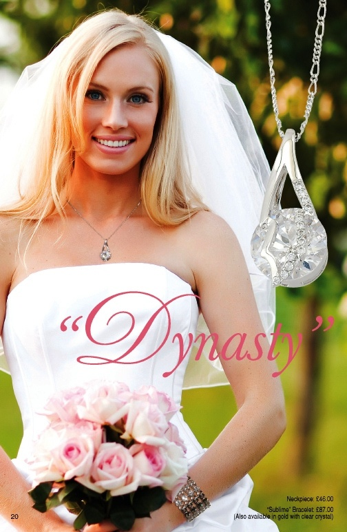 Getting married real soon! Check out our Bridal Collection via http://www.fifthavenuecollection.com/yokafor. The 'Dynasty' Neckpiece cost £46.00, so what are you waiting FOR: Repin & Keep Sparkling!